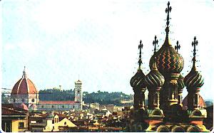 La chiesa russa di Firenze