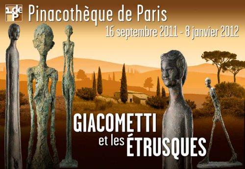 Los etruscos y Giacometti
